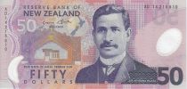 New Zealand 50 Dollars Apirana Ngata - Kokako
