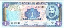 Nicaragua 1 Cordoba  F.H. Cordoba - 1990 - Serial A