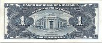 Nicaragua 1 Cordoba Femme indienne - 1954 - SUP - P.99 - numérotation rouge