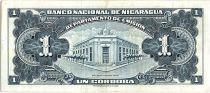 Nicaragua 1 Cordoba Femme indienne - 1958 - SUP - P.99 - numéro marron