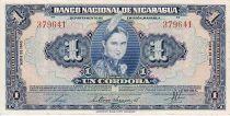 Nicaragua 1 Cordoba Indian woman