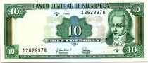 Nicaragua 10 Cordobas Miguel Larreynaga - 1996 - Neuf