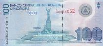 Nicaragua 100 Cordobas 2009 Monument, Cathédrale de Leon