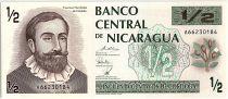 Nicaragua 50 Centavos,  Fransisco de Cordoba  - 1991