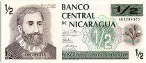 Nicaragua 50 Centavos,  Fransisco H de Cordoba  - 1991