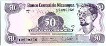 Nicaragua 50 Cordobas,  Carlos Fonseca Amador - 1979
