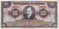 Nicaragua 500 Cordoba Ruben Dario - 1945