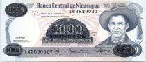 Nicaragua 500000 Cordobas Général A. C. Sandino - 1987