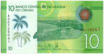 Nicaragua New1.2015 10 Cordobas, Port de Managua - 2015