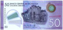 Nicaragua P.212 50 Cordobas, Market - Folk ballet - 2014