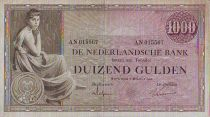 Niederlande 1000 Gulden Woman seated