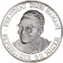 Niger 1000 Francs Diori Hamani - Indépendance du Niger - 1960