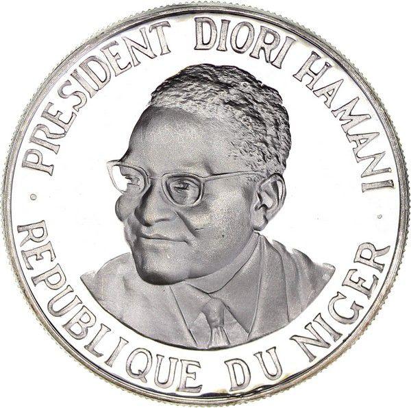 Niger 1000 Francs Diori Hamani - Independance of Niger - 1960