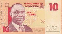 Nigeria 10 Naira - Aslvan Ikoku - Mujeres - 2006