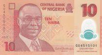 Nigeria 10 Naira Alvan Nikoku - 2020 Polymer - Neuf - P.39