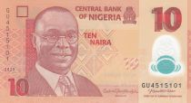 Nigeria 10 Naira Alvan Nikoku - 2020 Polymer - UNC - P.39