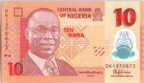 Nigeria 10 Naira Alvan Nikoku - Femmes, jarres - 2016