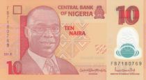 Nigeria 10 Naira Alvan Nikoku - Femmes, jarres - 2018 Polymer - Neuf