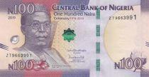 Nigeria 100 Naira Chief Obafemi Awolowo - 2019 - UNC