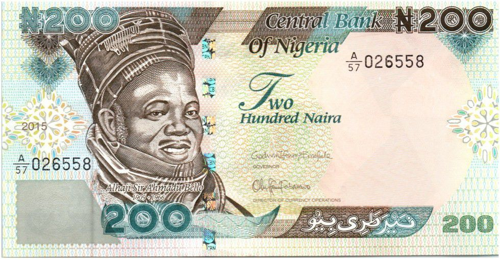 Image result for 6. ₦200- Sir Ahmadu Bello