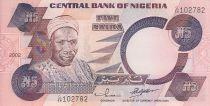 Nigeria 5 Naira - Sir Abubakar Tafawa Balewa Alhaji - Bailarines - 2002
