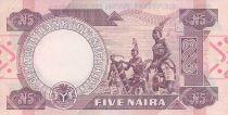 Nigeria 5 Naira - Sir Abubakar Tafawa Balewa Alhaji - Dancers - 2002