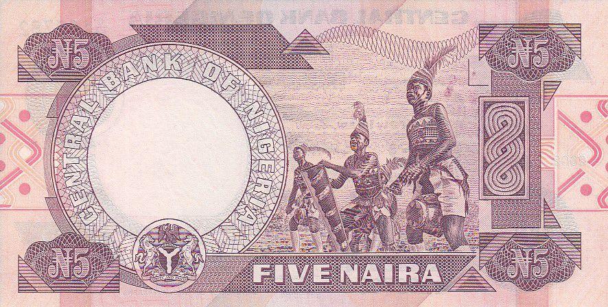 Nigeria 5 Naira - Sir Abubakar Tafawa Balewa Alhaji - Danseurs - 2002