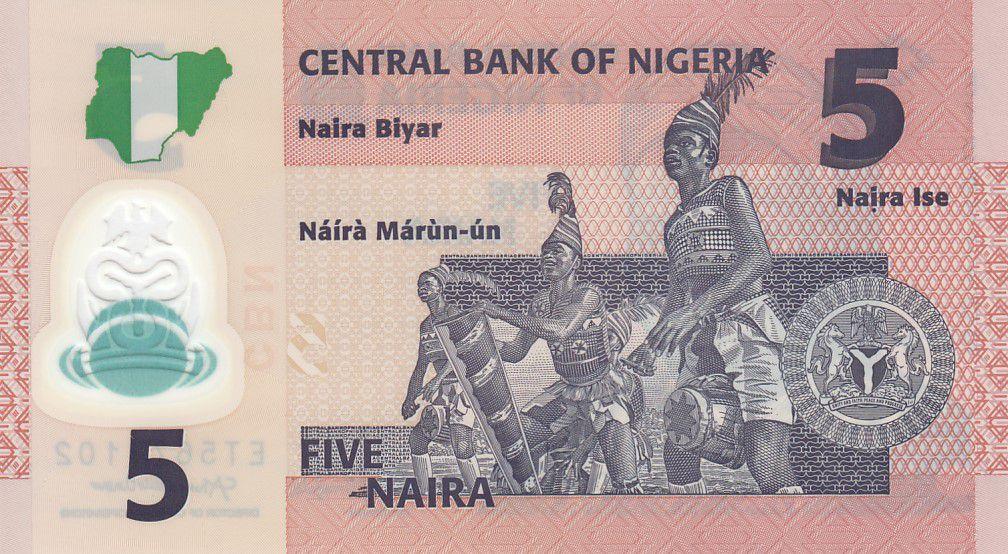 Nigeria 5 Naira A. Sir Abubakar Tafawa Balewa -Polymer - 2020 - Neuf - P.38