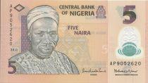Nigeria 5 Naira Alhaji Sir Abubakar Tafawa Balewa - 2013