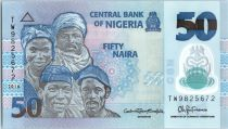 Nigeria 50 Naira Portraits - Fishermen - 2016 Polymer