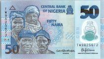 Nigeria 50 Naira Portraits - Pêcheurs - 2016 Polymer
