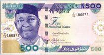 Nigeria 500 Naira Dr N. Azikiwe - Plateforme pétrolière 2016