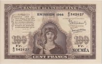 Nle Calédonie 100 Francs 1944 Spécimen - PCGS MS 65