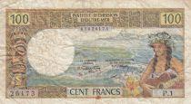 Nle Calédonie 100 Francs Tahitienne ND1969 - Série P.1