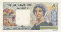 Nle Calédonie 20 Francs Jeune Berger - ND (1954) - Annulé - Série W.32