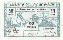 Nle Calédonie 50 centimes Bon de caisse - 1943