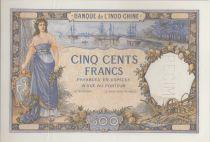 Nle Calédonie 500 Francs ND1938 Spécimen épreuve sans sign - PCGS AU 58 OPQ