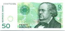 Norvège  50 Kroner  P. C. Asbjornsen - 2011- P.NEUF