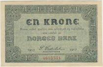 Norvège 1 Krone Armoiries