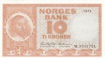 Norvège 10 Kroner Christian Michelsen - 1973 - Neuf - P.31