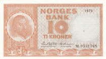 Norvège 10 Kroner Christian Michelsen - 1973 - SPL - P.31