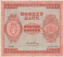 Norvège 100 Kroner 1948 - Série B.6034426- p.TTB