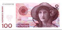 Norvège 100 Kroner Kristen Flagstad - Théâtre 1995 - Neuf