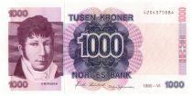Norvège 1000 Kroner C.M. Falsen
