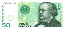 Norvège 50 Kroner 2008 - Peter Christen Asbjørnsen