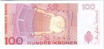 Norvège P.49 100 Kroner, Kristen Flagstad - Théâtre - 2010