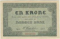 Norway 1 Krone Arms