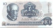Norway 10 Kroner, Fridtjof Nansen - Fisherman - 1977 - UNC - P.36
