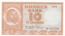 Norway 10 Kroner Christian Michelsen - 1973 - SPL - P.31