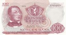 Norway 100 Kroner 1975 - H. Wergeland, Constitution of 1814